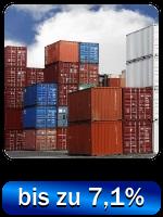 Container Direktinvestment - gute Renditen mit kurzen Laufzeiten