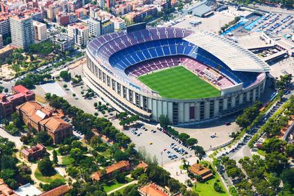 Barcelona Stadion Werbung als Kapitalanlage